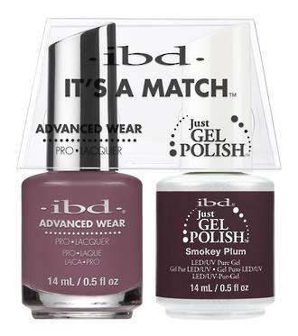 IBD Duo Polish - Smokey Plum