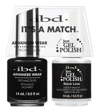 IBD Duo Polish - Black Lava