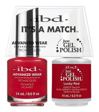 IBD Duo Polish Lucky Red