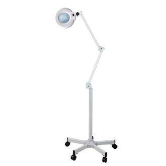Magnifier Lamp on Stand