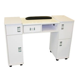 Marble Top Manicure Table