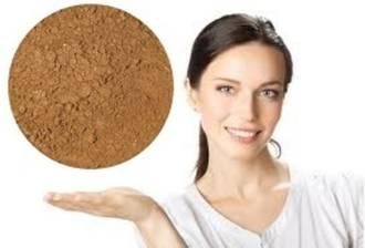 MakeupFIX Mineral Foundation Powder Deepest Tan -Tester MF09