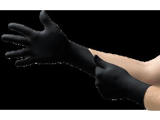 Black Nitrile Gloves - Small (heavy duty) Power Free