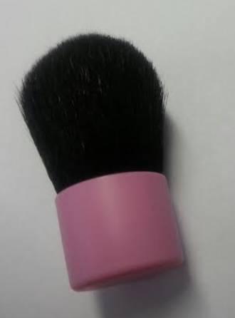 Pink Kabuki Brush - Mini