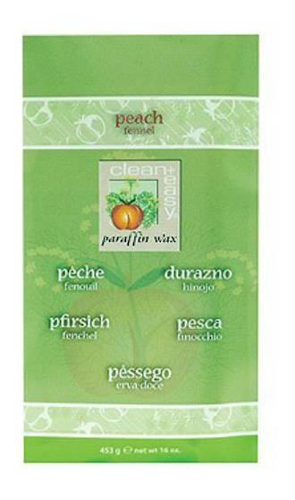 Clean & Easy Peach & Juniper Paraffin Refill 453g
