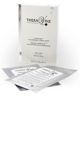 Theravine RETAIL Hydravine Chardonnay Grape Mask - 6 Pack