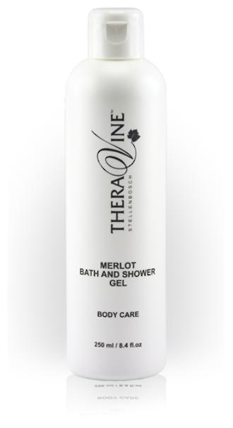 Theravine Professional Merlot Bath and Shower Gel 500ml
