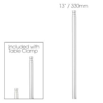 Glamcor 330mm extra height post for Table Clamp