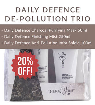 Theravine Limited Edition Daily Defence De-Pollution Trio