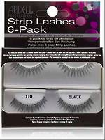 Ardell Fashion Lashes 110 Black 6 Pack Refill