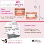 EXPO SPECIAL 2021 -Cosmetic Bright PROFESSIONAL TEETH WHITENING BRITE LIGHT LED - RECEIVE up to $2,153 of products FREE