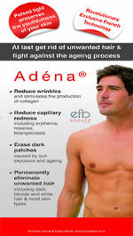 ADENA Small Banner/Poster Man 420mm x 184mm