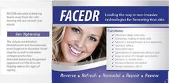 FaceDR brochures  x 50