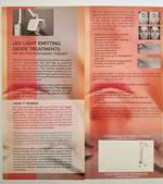 LED LIGHT Emitting Diode Treatments flyers 50pk