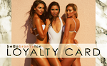 Bella Bronze Tan Loyalty Cards x100