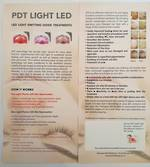 PDT LED LIGHT flyer 50pk