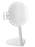 Riki Graceful 7x Magnification LED Lighted Mirror