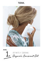 TONIK Benefits - Coconut Oil  - A4 POSTER 1