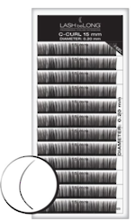 LASH beLONG- C-CURL LASHES Variety Tray 15mm
