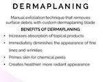 Dermaplaning Training Online