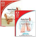 MOTHER'S DAY SPECIAL:  Free Room Socks with a Baby Foot 1 Hour Exfoliant Pack and Hydrating Foot Mask