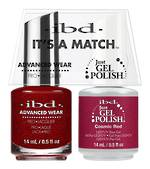 IBD Duo Polish Cosmic Red