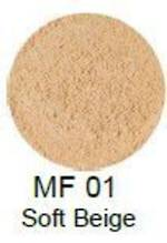 MakeupFIX Mineral Foundation Powder Soft Beige-Tester MF01