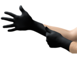 Black Nitrile Gloves - Small (heavy duty) Power Free