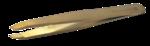Brow Code Slant Precision Tweezer 100% Stainless Steel