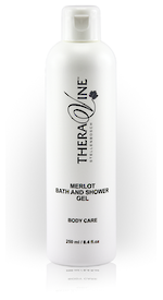 Theravine RETAIL Merlot Bath and Shower Gel 250ml