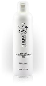 Theravine RETAIL Merlot Bath and Shower Gel 250ml