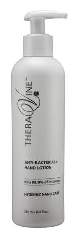 Theravine Retail Anti-Bacterial Hand Lotion 250ml