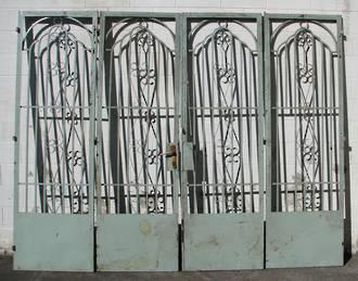 Iron Gates Bi folding SOLD