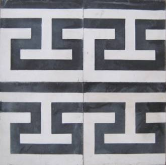 New Greek Key pattern Border Tile $7 each