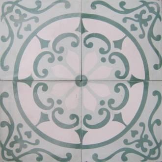 New Green Circle Tile $7 each