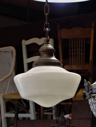 Genuine Art Deco Hanging Light SOLD