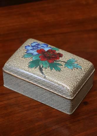 Chinese Rebublican Era Cloisonne  Box