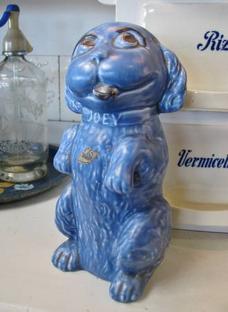 Large Blue Sylvac Joey Dog