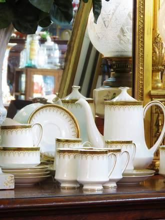 Paragon Athena  Porcelain Coffee set SOLD