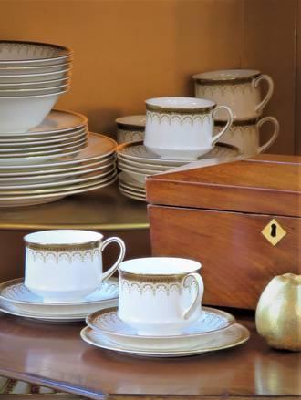 Paragon Athena Porcelain Dinner Service HOLD