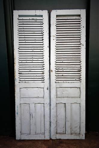 Antique French Shutter Doors $950.00 pair