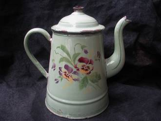 Antique French Enamel Ware