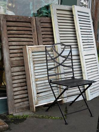Original French Shutters