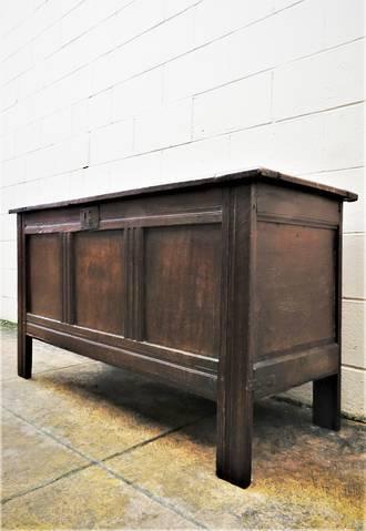 17th Century Oak Coffer  SOLD