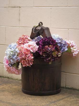 Hand-dyed Silk Artificial Flowers - Hydrangeas $13.50 - $15.95