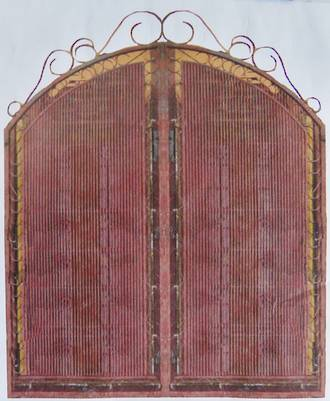 Pair of Red Gates $4500 pair