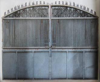 Pair of Blue Gates $3500
