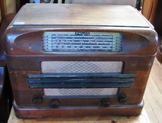 Vintage Philco Radio $495.00