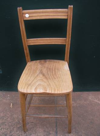 English Elm School Chair