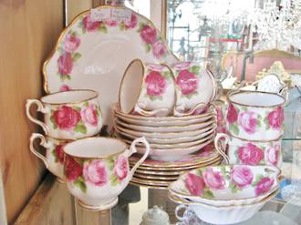 Royal Albert Tea Set Old English Rose